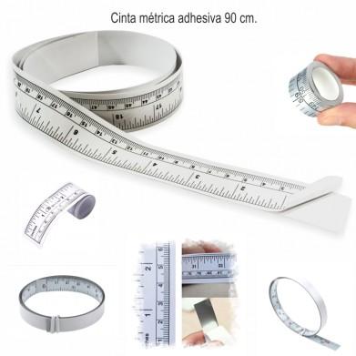 Cinta métrica adhesiva 90cm.