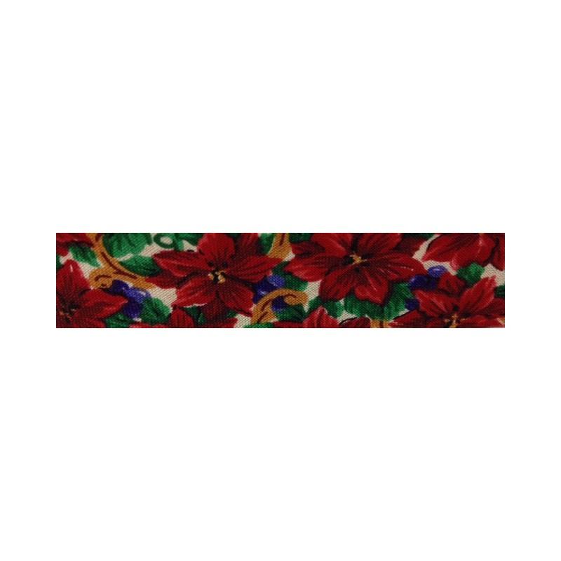 Bies flores rojas (18 mm)