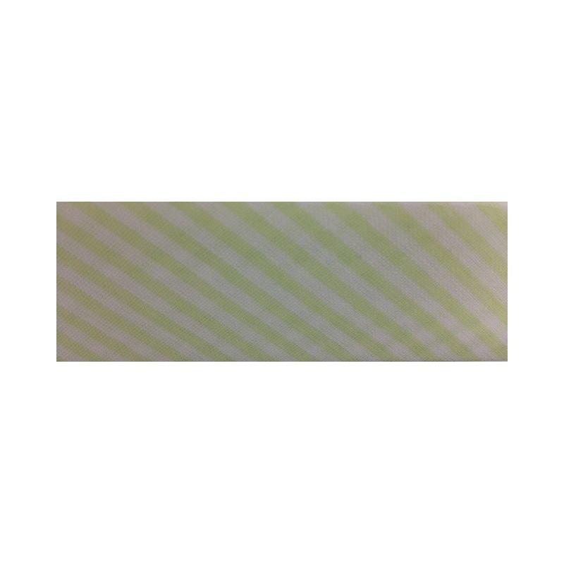 Bies - rayas verde claro (30 mm)