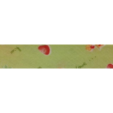 Bies - verde con fresas (18...