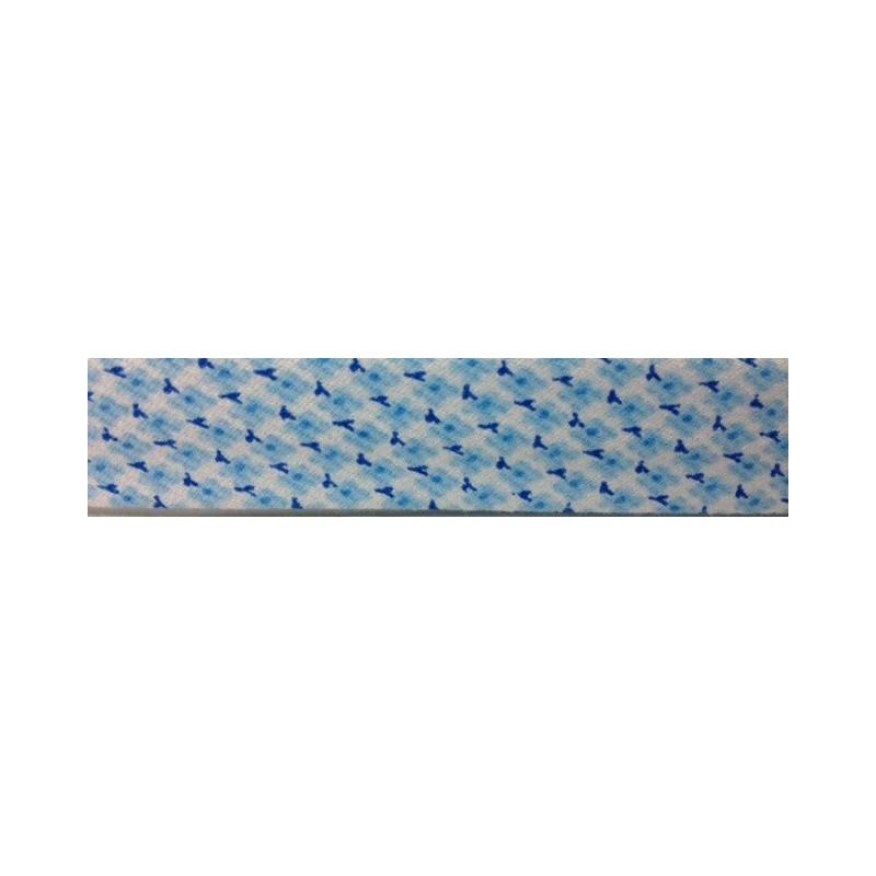 Bies -flores azules (18 mm)