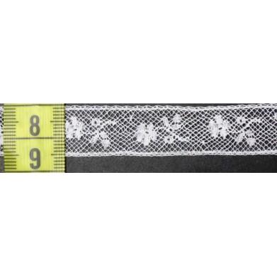 Puntilla valencie blanca 1,5 cm