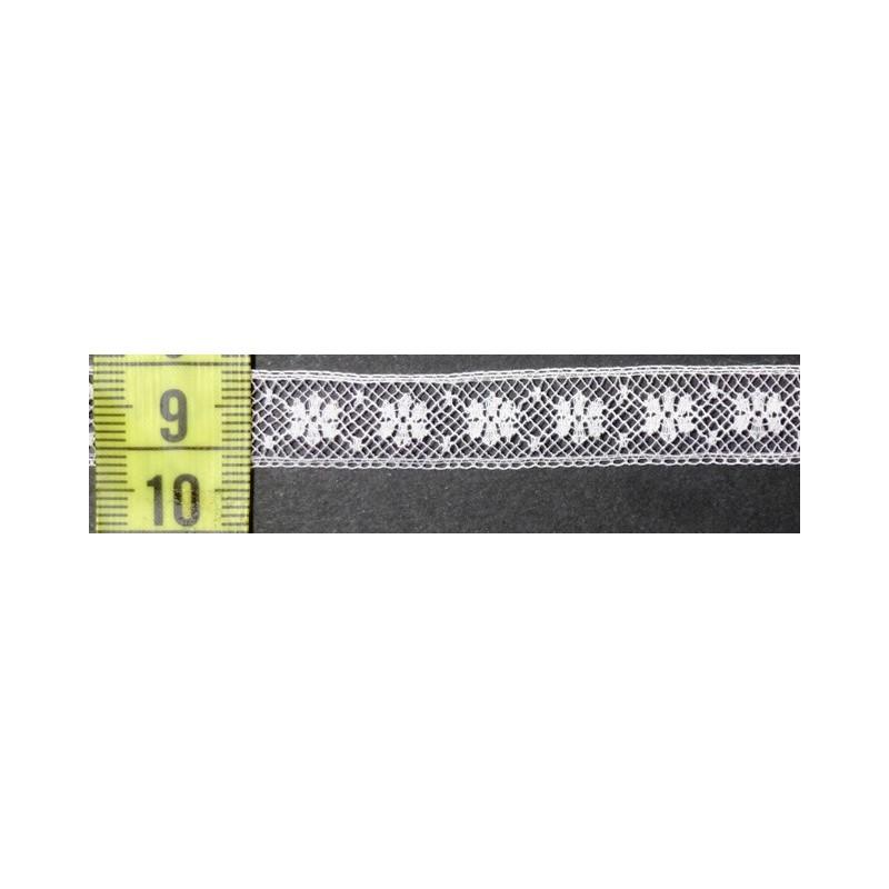 Puntilla valencie blanca 1,2 cm