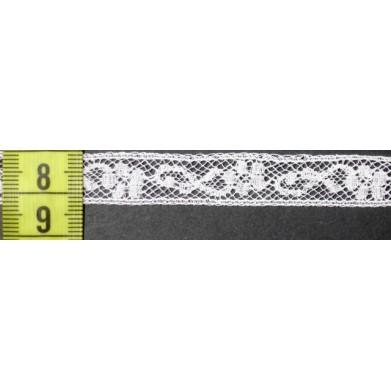 Puntilla valencie blanca 1 cm