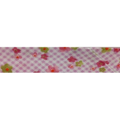 Bies - estampado flores (18 mm)