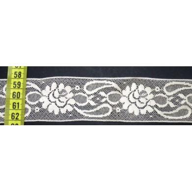 Entredos nylon beige 4 cm