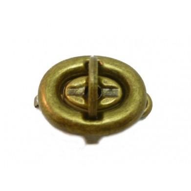 Cierre bolso oro viejo 3 cm
