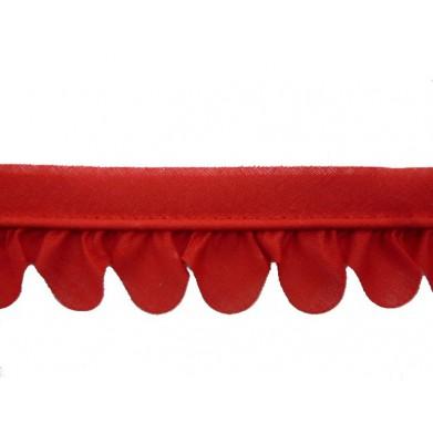 Vivo de pétalos rojo (3,5 cm)