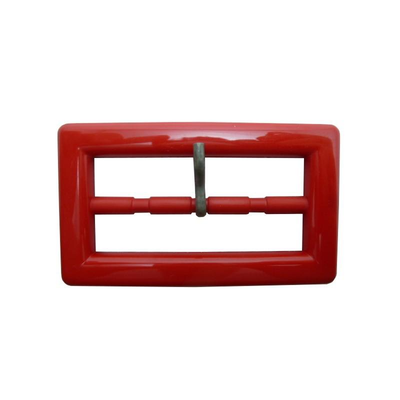 Hebilla rojo 6 cm