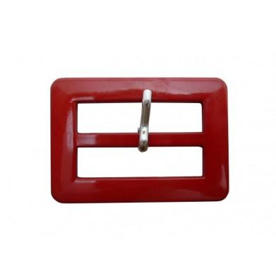 Hebilla rojo 4 cm