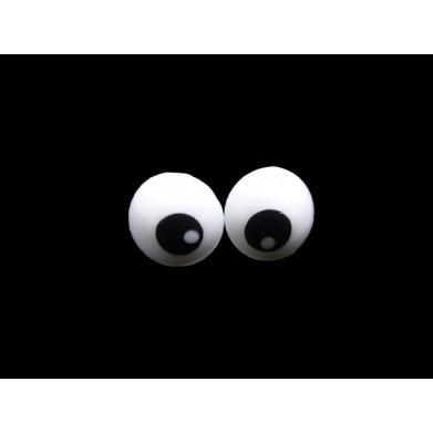 Ojos de seguridad diámetro 1 cm
