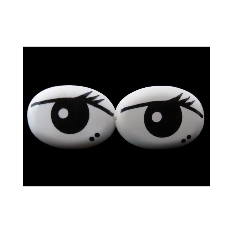 Ojos de seguridad 2 x 1,2 cm
