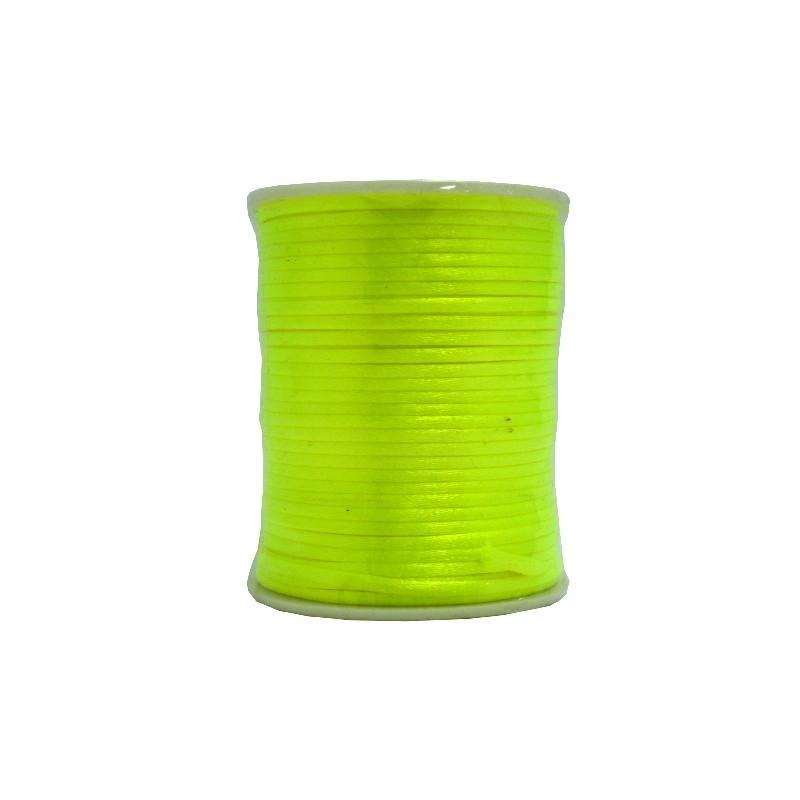 Cola ratón Ø 2mm (amarillo fluorescente)