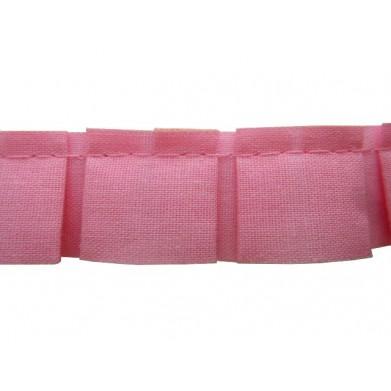 Plisado tablas rosa 2 cm