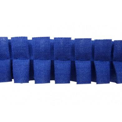 Plisado tablas azul-lila 2 cm