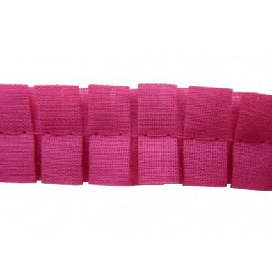Plisado tablas rosa fucsia...