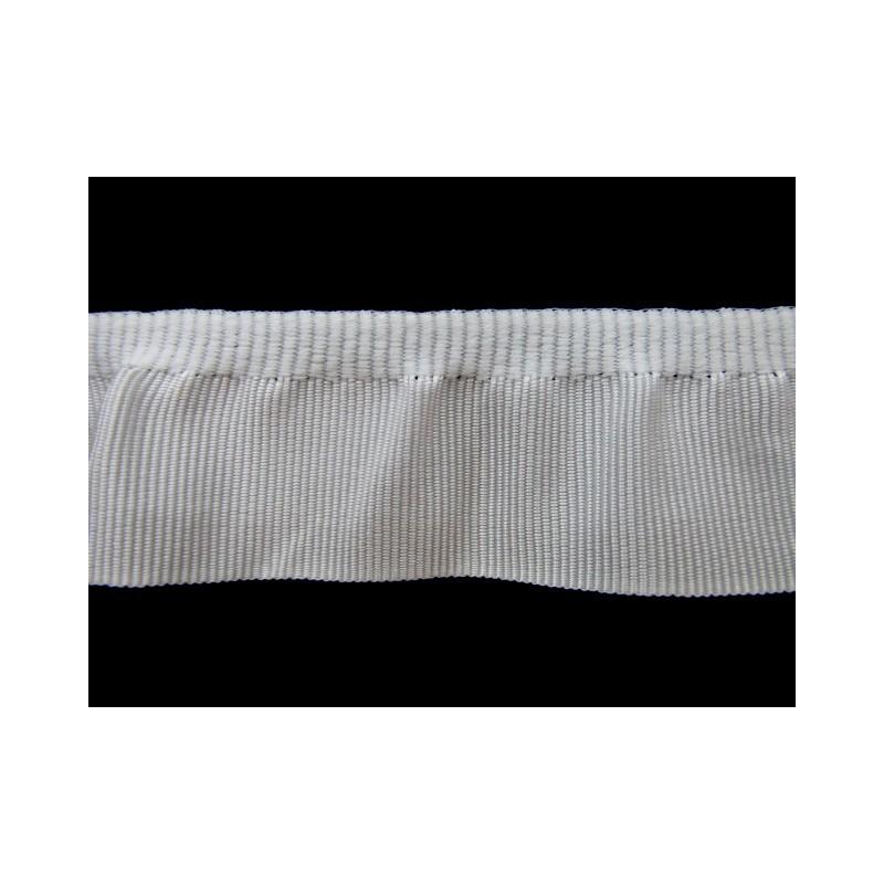 Fruncido elastico falla blanco 2,5 cm