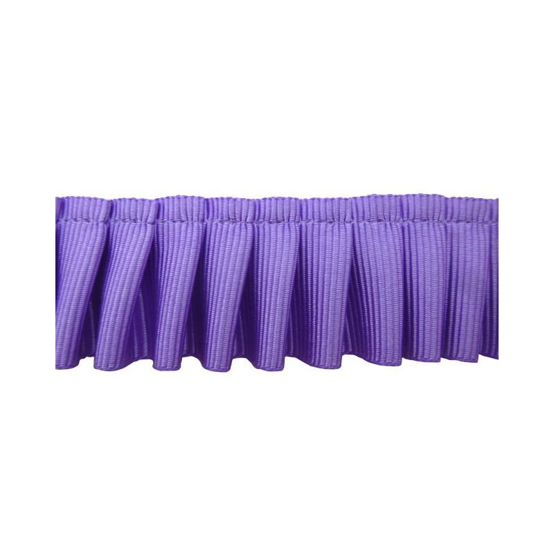 Plisado de falla lila 2,5 cm