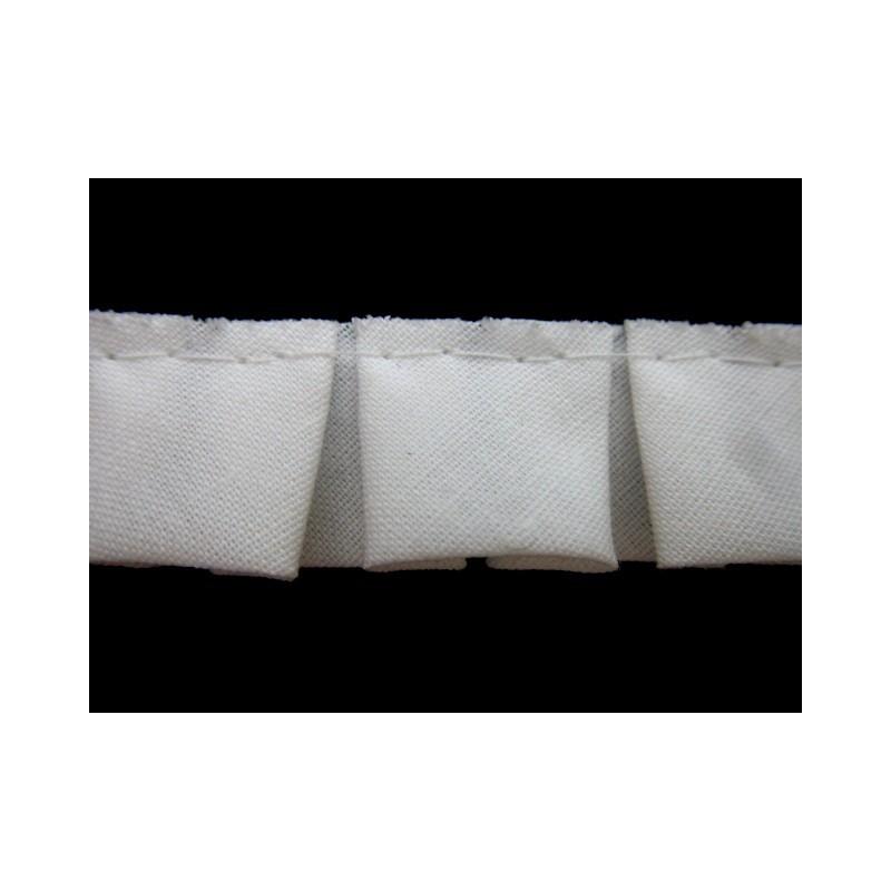 Plisado tablas blanco 2 cm