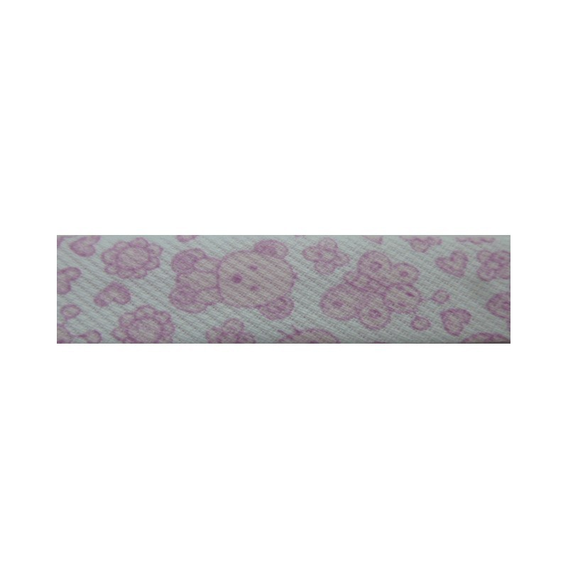 Bies animales rosas (18 mm)